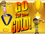 Go for the Gold! - Wacky Olympic Themed Lesson